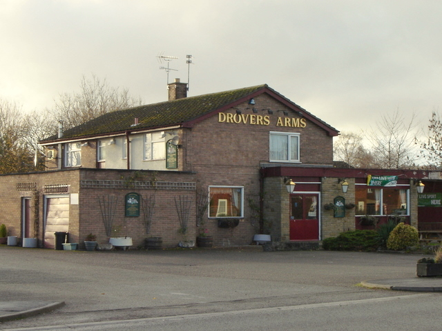 Drovers Arms public house in Mold