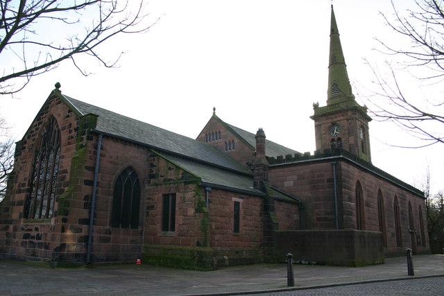 Prescot Parish Church