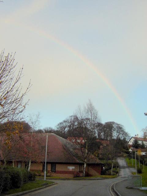 Rainbow over Bailey Hill, Mold