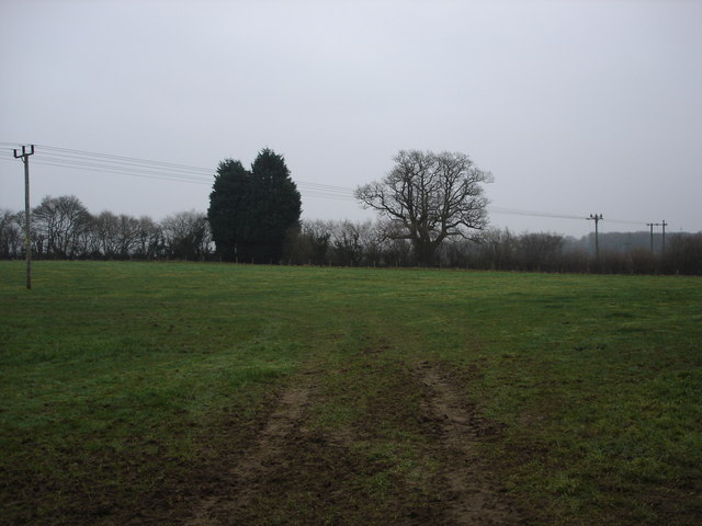 Gloomy Farmland near Clay Hill