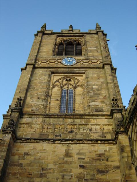 St Mary's church, Mold