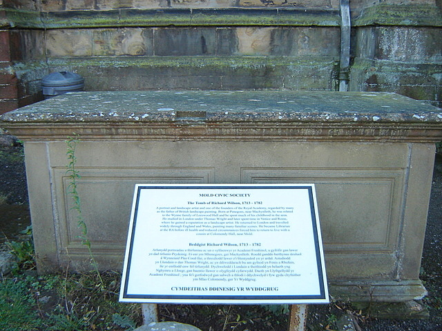 The tomb of Richard Wilson - I don't believe it