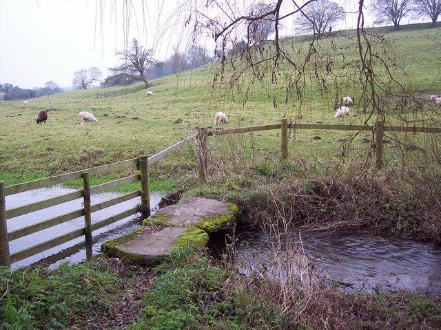 Footbridge over River Ebble