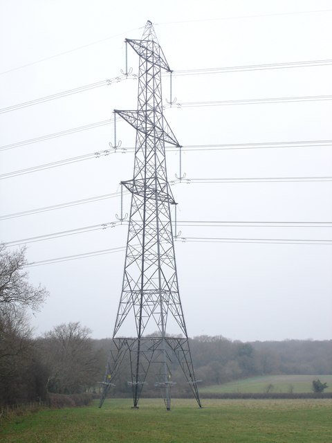 Electricity Pylon near Paradise Farm