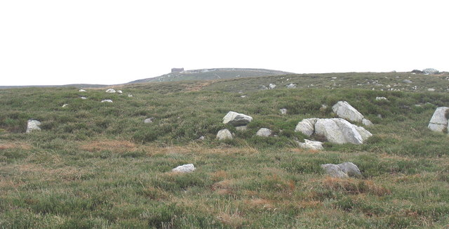 The little used northern route to the summit of Cefn Du