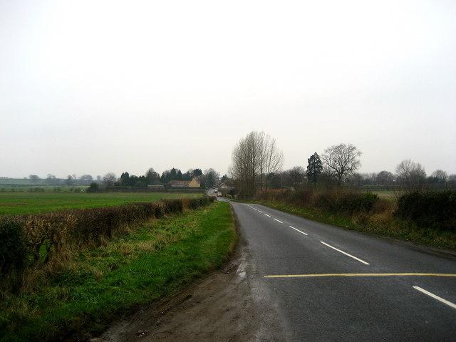B6285 heading towards Burneston