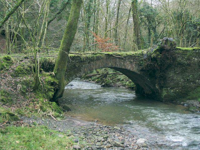 Bridge on the Loughor at Glynhir