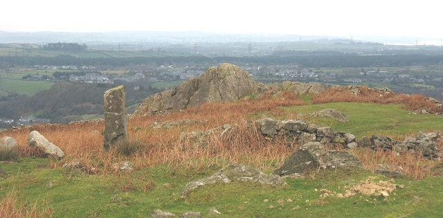 Standing stone at Pen-y-bwlch