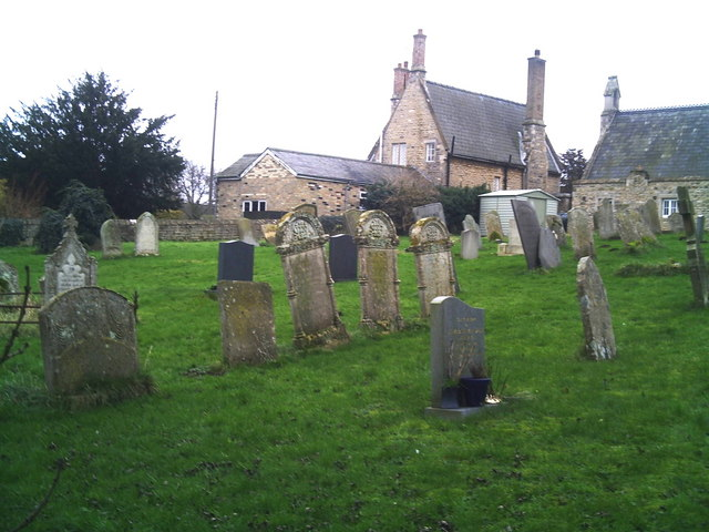 St Andrew Witham-on-the-Hill churchyard