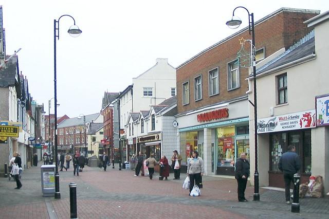 Quay Street, Ammanford (Recreated)
