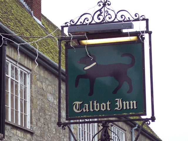 The Talbot Inn Sign