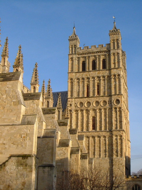 South tower, Exeter Cathedral