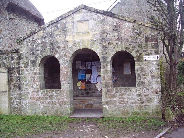 Stone Built Bus Shelter