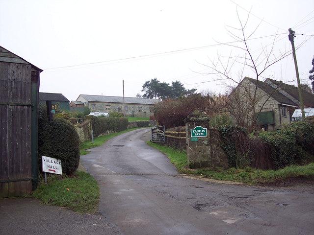Entrance to Easton Farm