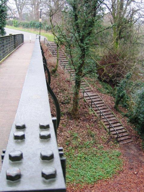 The Dingle Footbridge