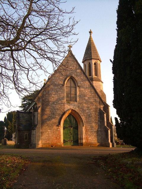 Chapel in Torquay Cemetery
