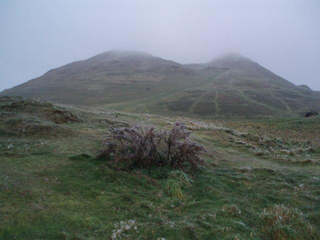 Arthur's Seat from Dunsapie Crag
