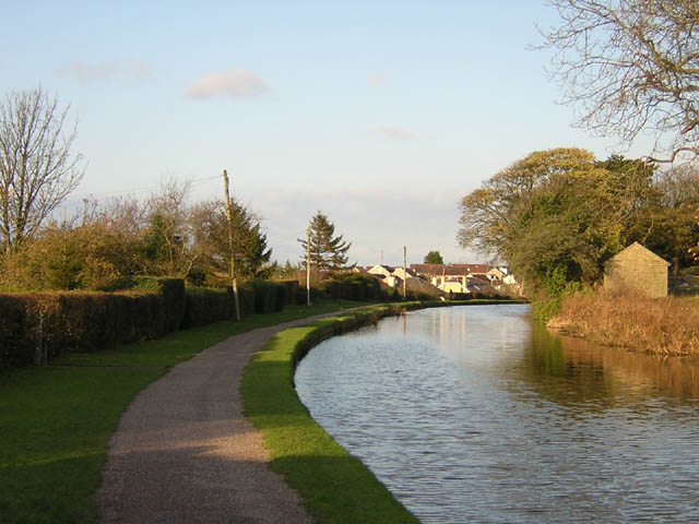 Towpath at Bolton-le-Sands