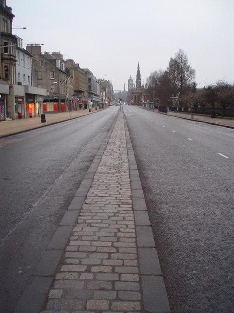 Princes Street, Christmas Day
