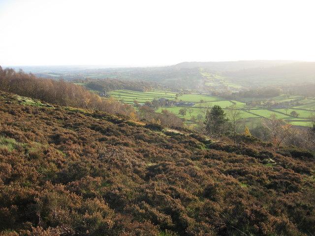 View Towards Ashover Hay and Highoredish