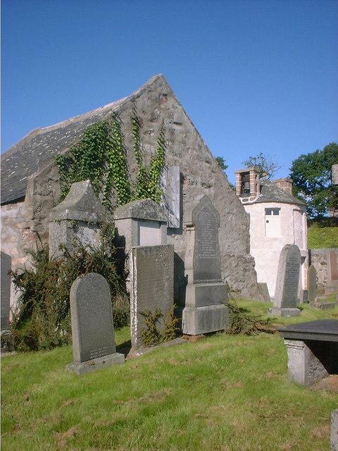 The Douglas's of Tilquhillie burial aisle, Banchory-Ternan