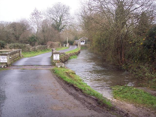 River Ebble at Croucheston