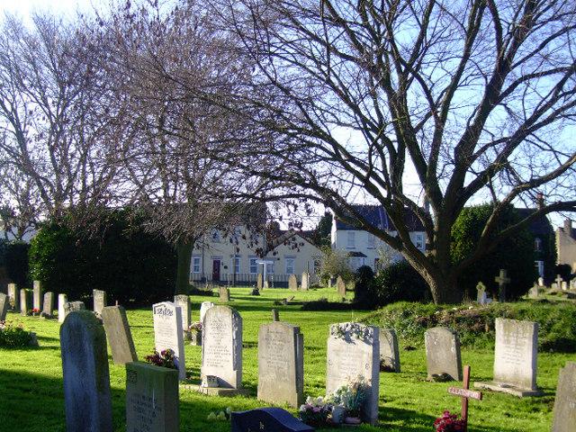 Great Wakering: St Nicholas' churchyard, Essex