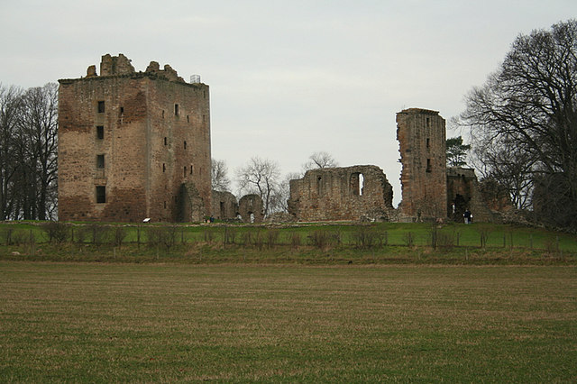 Spynie Palace, a Fourteenth  Century  Morayshire attraction.