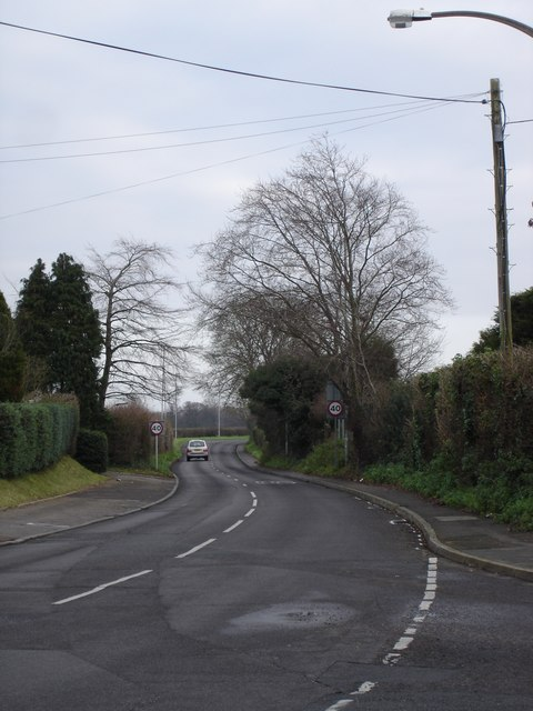 Road from Oakley to Canford Magna