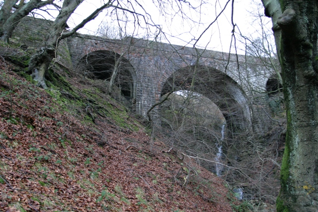 Viaduct Near Llanelli Hill