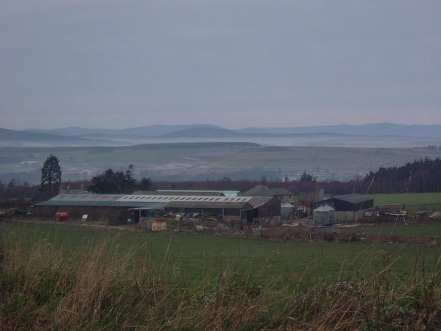 View over Bogenraith from Denside