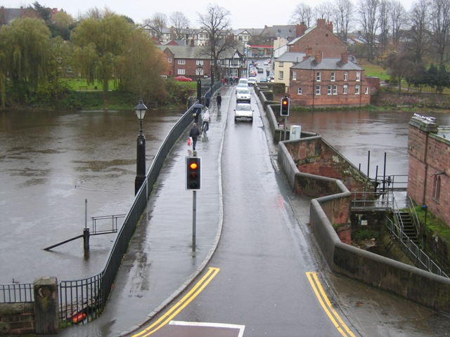 The Old Dee Bridge, Chester
