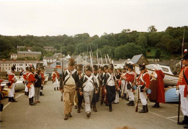 Last Invasion re-enactment 1997