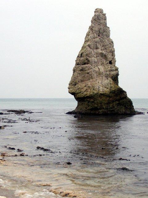 Butter Rock, east of Bat's Head