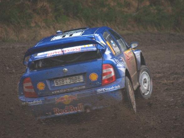 Wales Rally GB 2006 Harri Rovampera