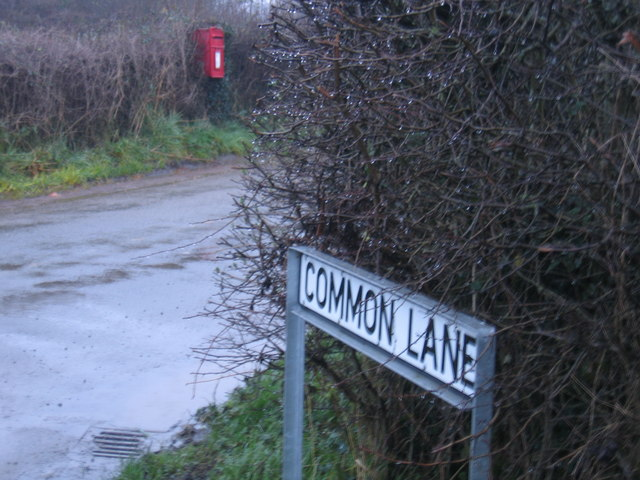 Common Lane Post Box
