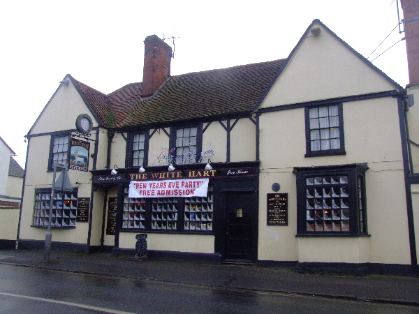 Great Wakering: The White Hart pub