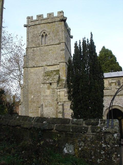 Tarrant Hinton Church tower