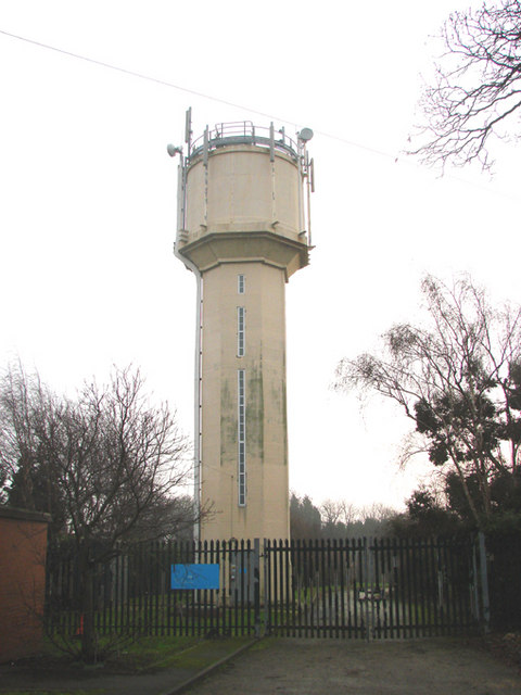 Water Tower off  B6422