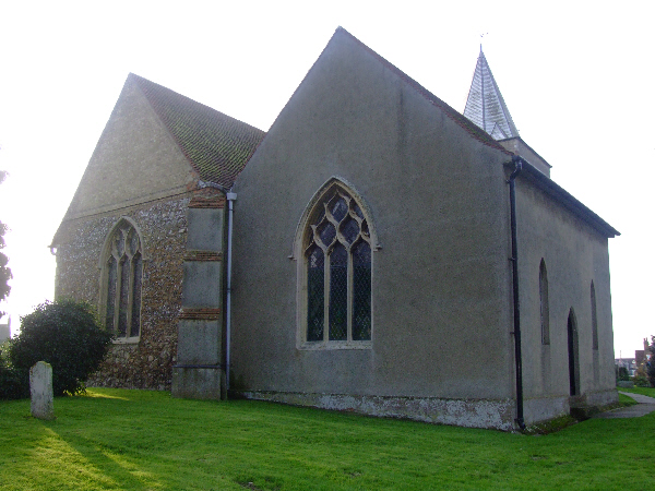Great Wakering: St Nicholas' church, rear