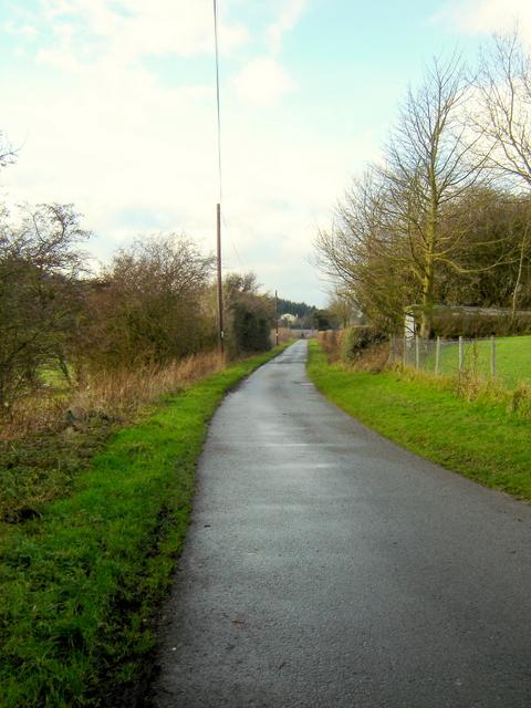 Ffordd Bryngwyn, near Nercwys
