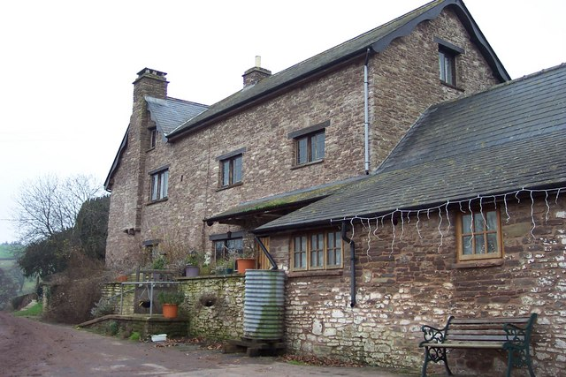 Pentre, a substantial stone house