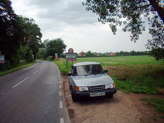 A1101 Entering Hengrave