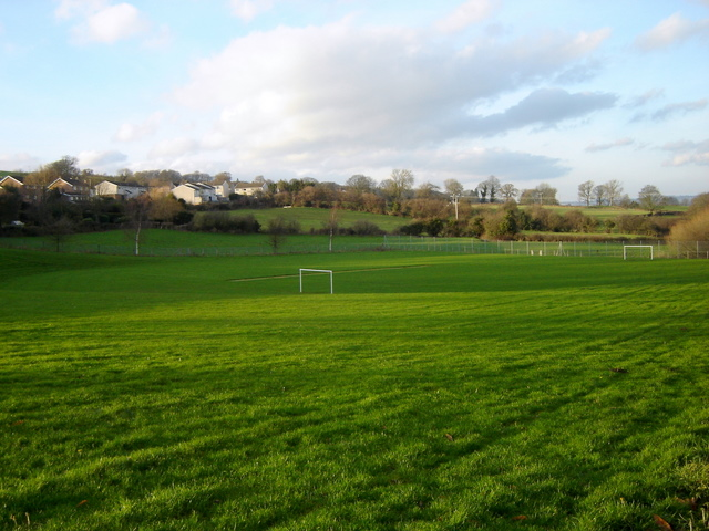 Playing field / football pitch in Nercwys
