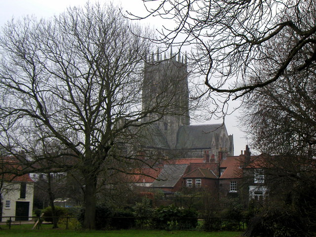 Hedon St. Augustines taken from Station Lane