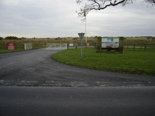 Maidens Hall Opencast Coal Mine