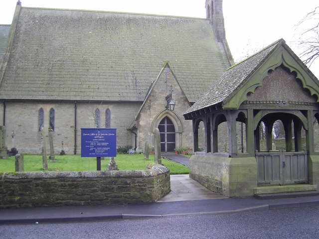 Lych Gate, St John's Church