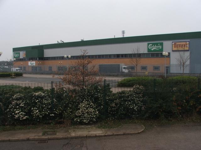Carlsberg-Tetley Distribution Warehouse at Tingley.