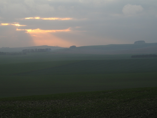View towards Roundway Hill