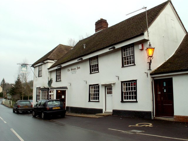 'The Swan Inn' at Chappel, Essex
